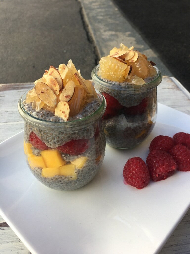 Oscars Red Carpet Diet Secrets: Sunset Chia Bowl