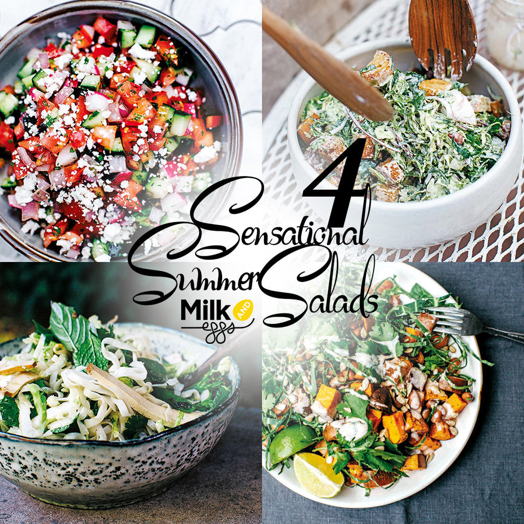 4 Sensational Summer Salads