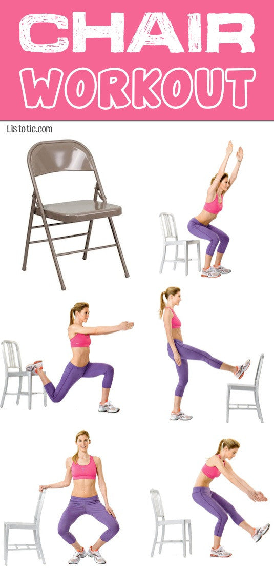 WORKOUT WEDNESDAY - The Chair Workout
