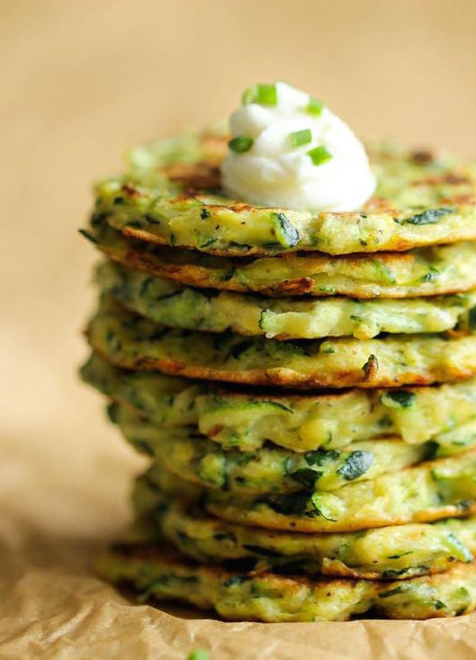 Zucchini Fritters Healthy Recipe