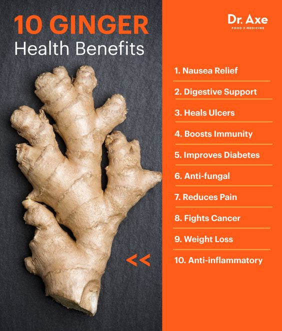 10 Medicinal Ginger Health Benefits