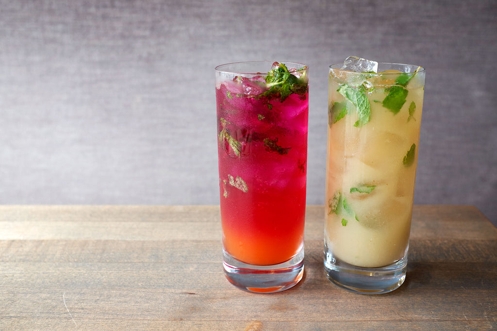 2 Mocktail Recipes with Health-Ade Kombucha