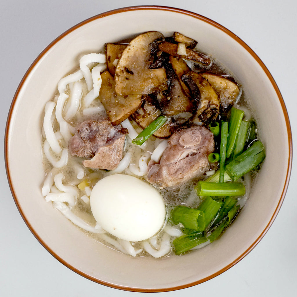 Udon Soup with Pork Bones