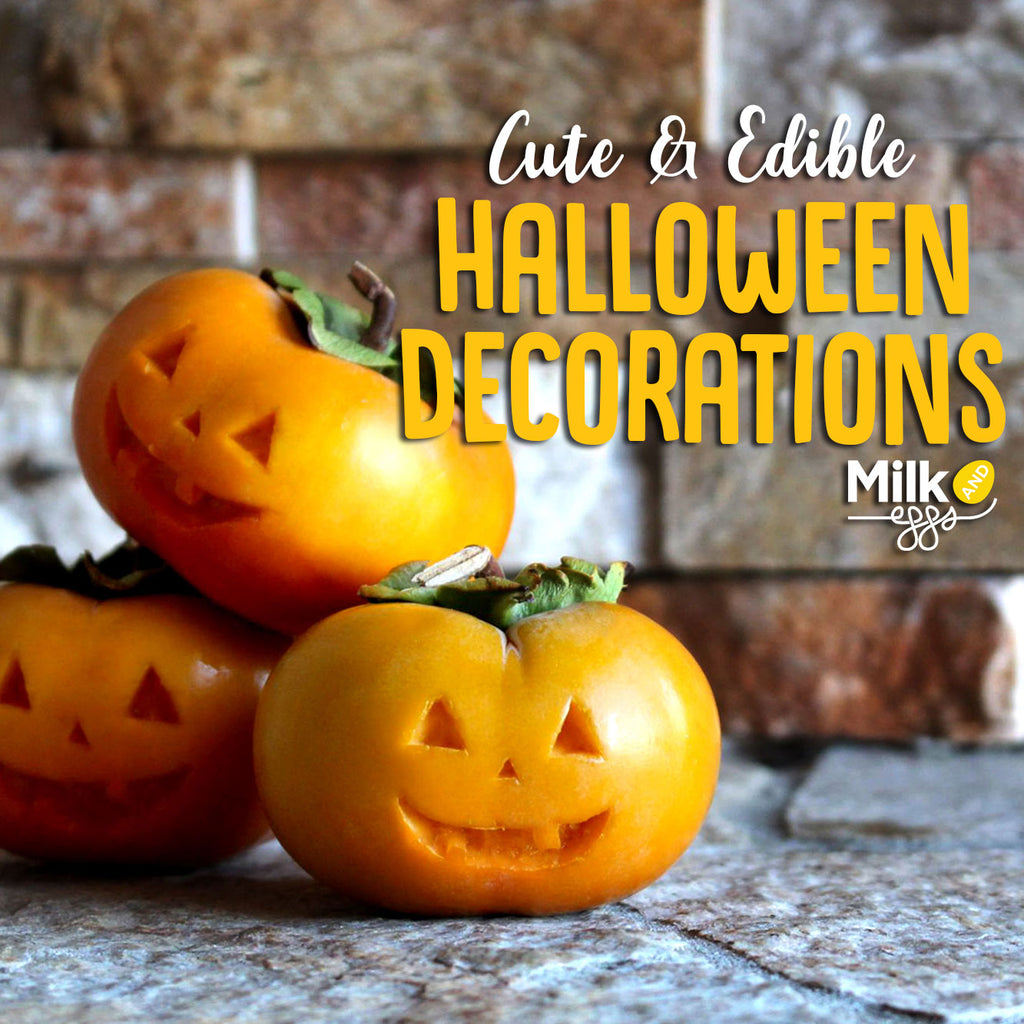 Cute & Edible Halloween Decorations