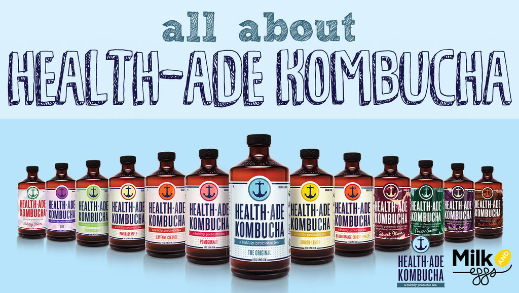 All About Health-Ade Kombucha