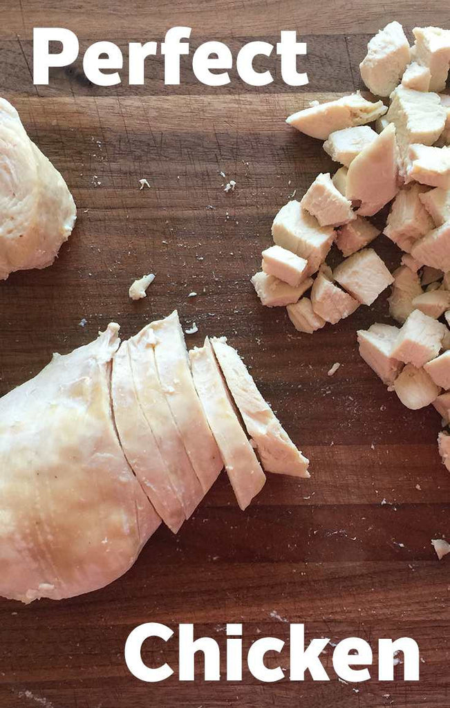 How to Pre-Cook the Perfect Chicken Breast to Chop Up for Recipes