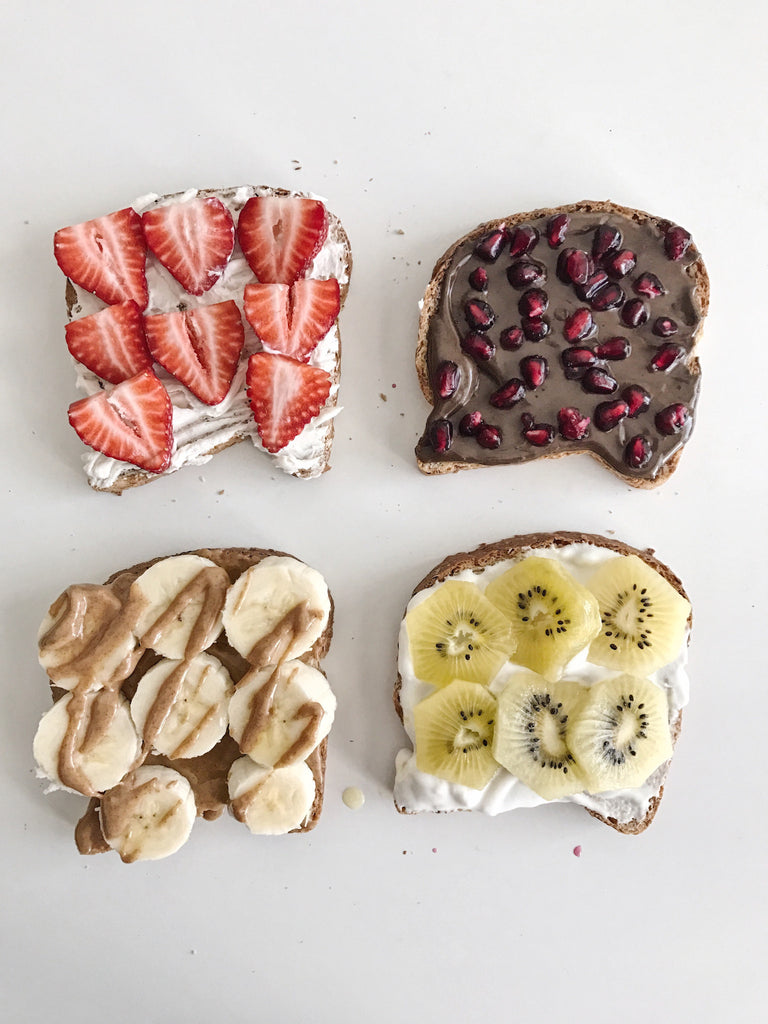 5 Creative & Healthy Breakfast Toast Ideas