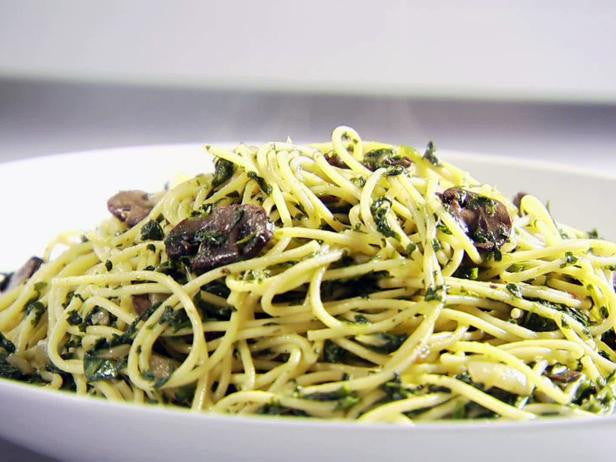 Spinach and Mushroom Pasta Recipe