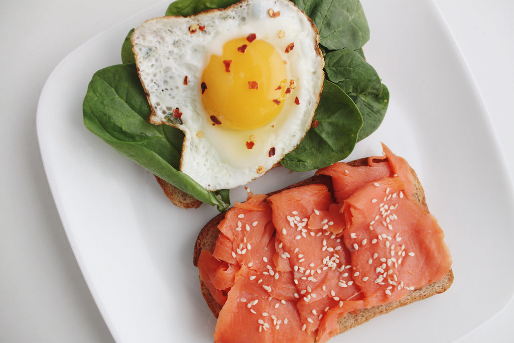 Smoked Salmon & Egg Toasts