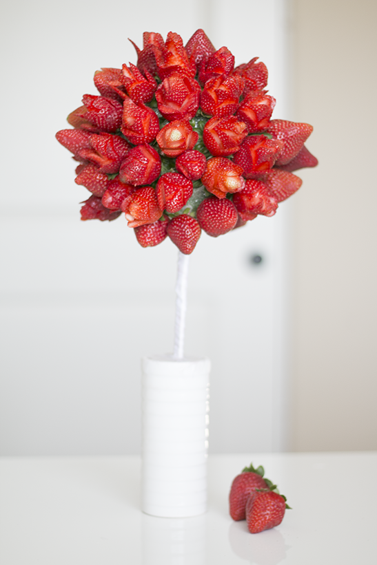 Strawberry Rose Bouquet