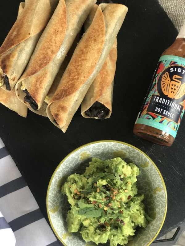 Grain-Free & Dairy-Free Breakfast Taquitos