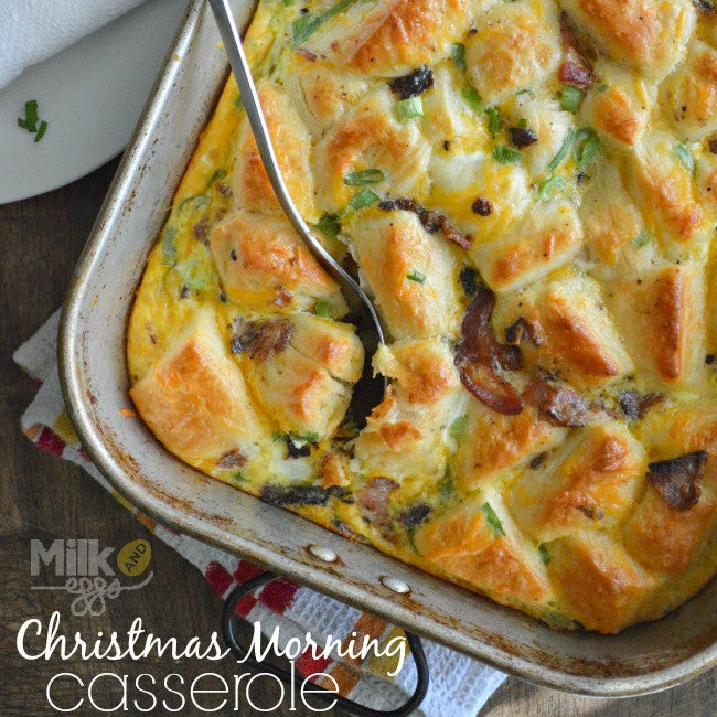 Christmas Morning Casserole Recipe - Easy Holiday Dish