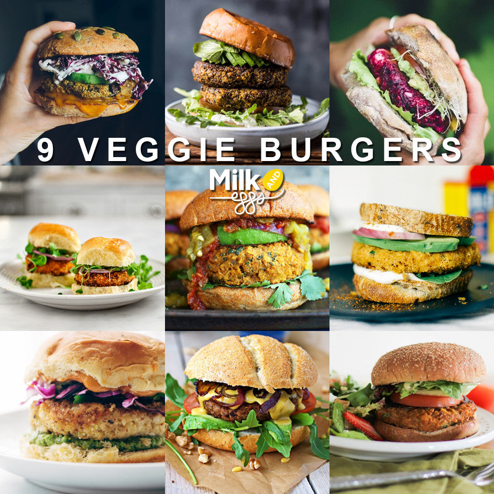 9 Veggie Burgers That Even Meat Lovers Will Want to Eat!