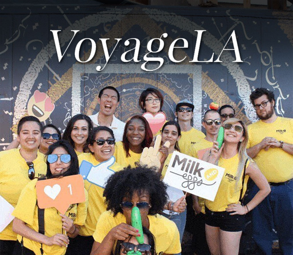 Featured on VoyageLA! - Meet Kenneth Wu of Milk and Eggs