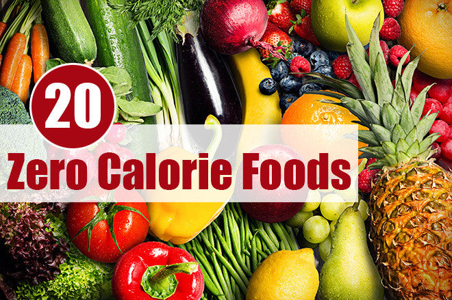 20 Best Zero Calorie Foods Milk And Eggs