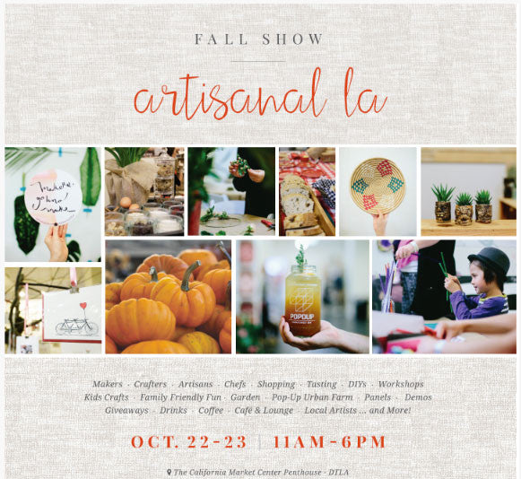 Join us at Artisanal LA for free food & arts and crafts