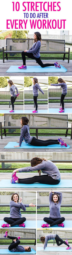 WORKOUT WEDNESDAY - 10 Post Workout Stretches