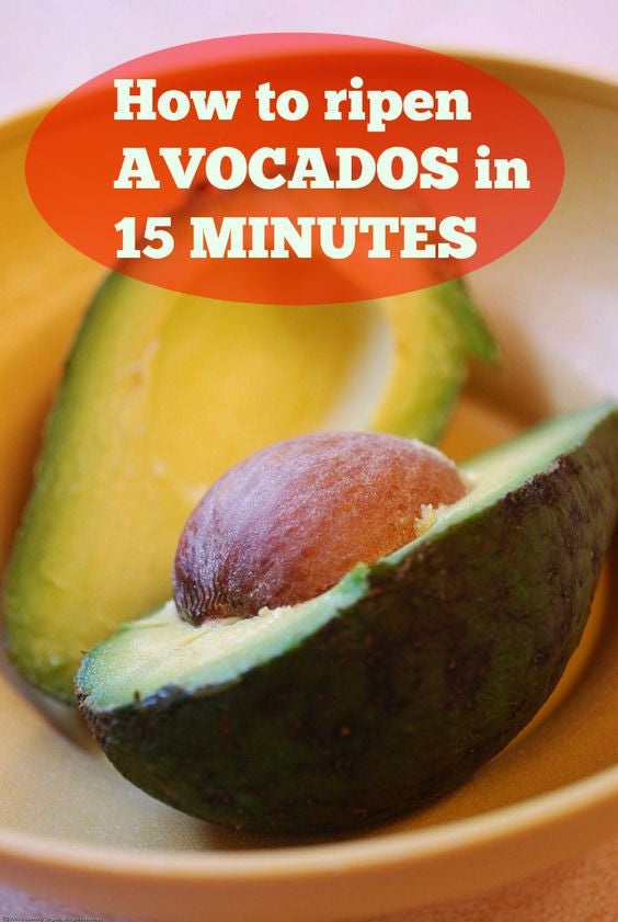 Ripen An Avocado in 15 Minutes