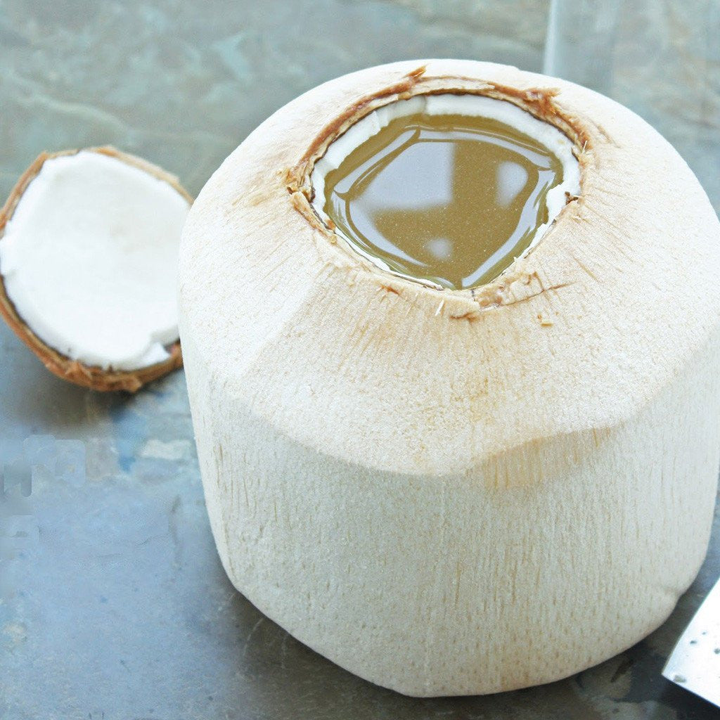 How to open a Young Coconut
