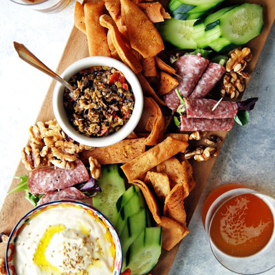 Easy Greek Mezze Platter