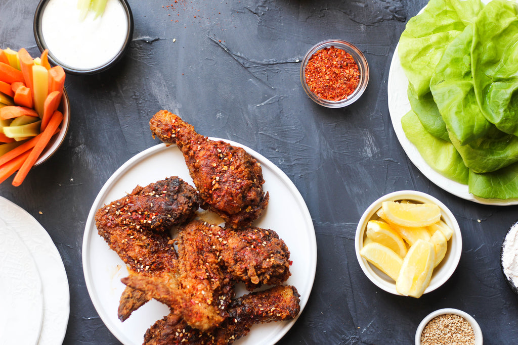 2 for $12: Spicy Fried Chicken