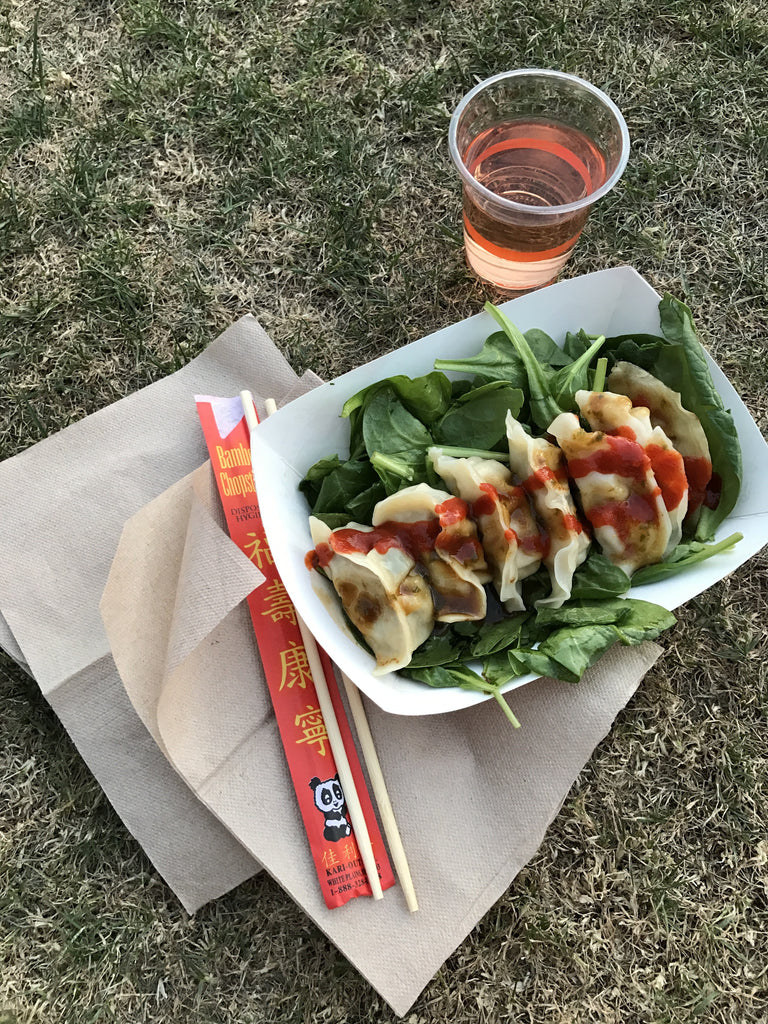 The Best Things to Eat at Coachella: Bling Bling Dumplings