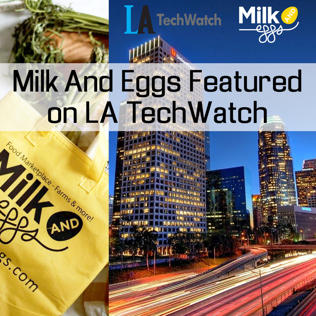 Featured on LA TechWatch! - Milk and Eggs Interview