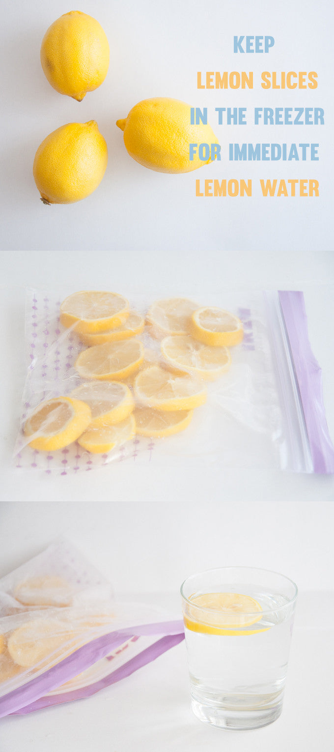 Instant Ice Cold Lemon Water