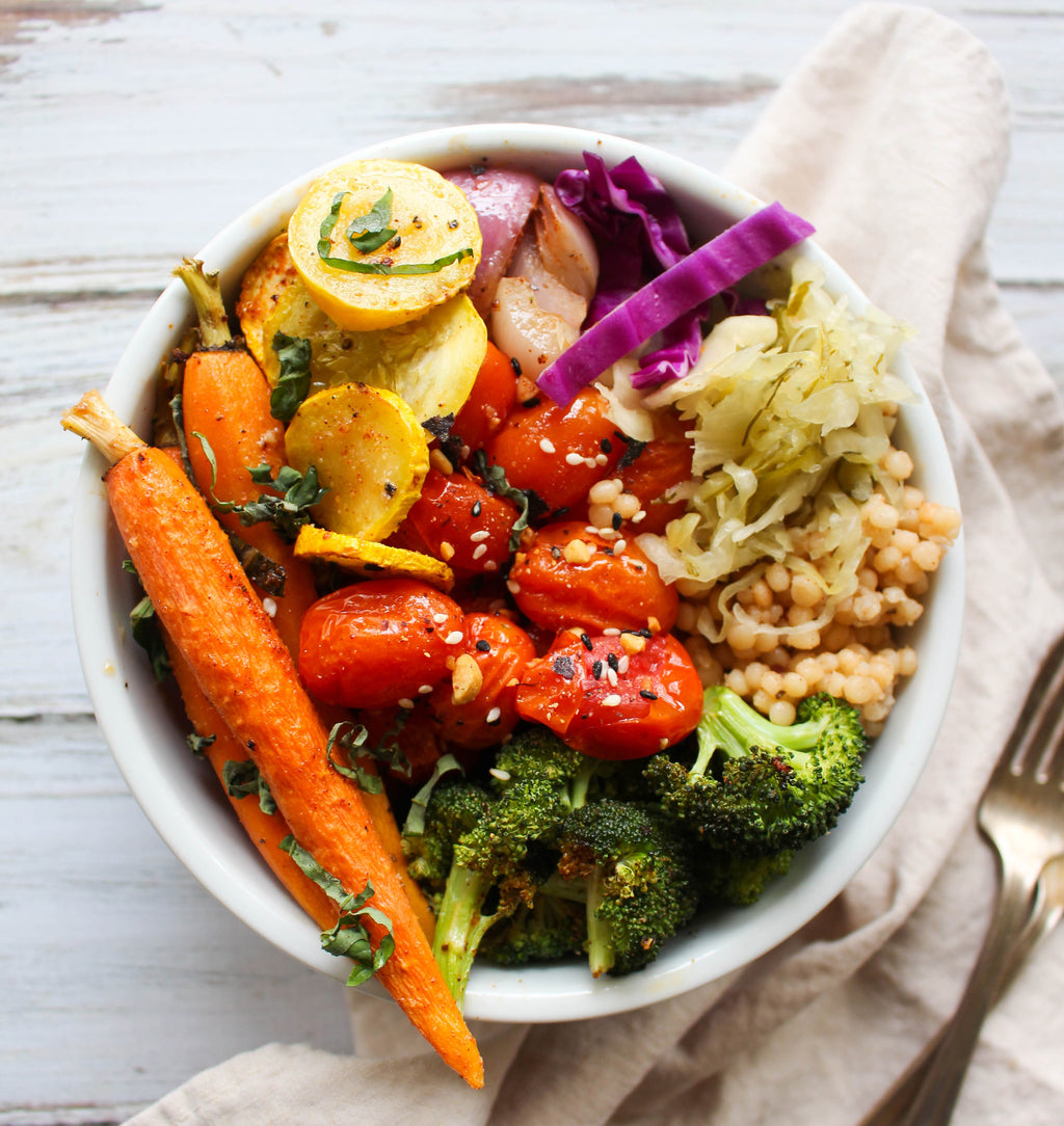 Rainbow Vegetable Bowl