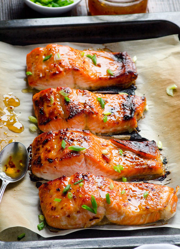 Baked Thai Salmon Recipe