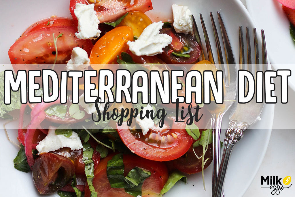 Mediterranean Shopping List