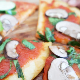 After-School Snack: Pita Pizza