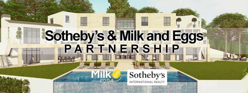 Announcing Sotheby's & Milk and Eggs Partnership Program