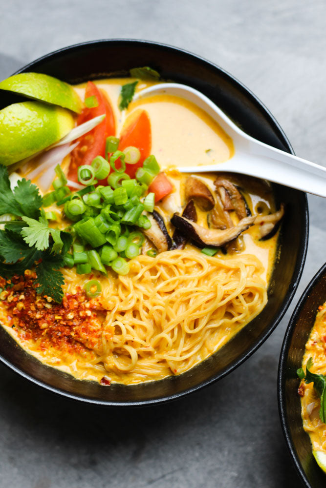 Spicy Coconut Ramen