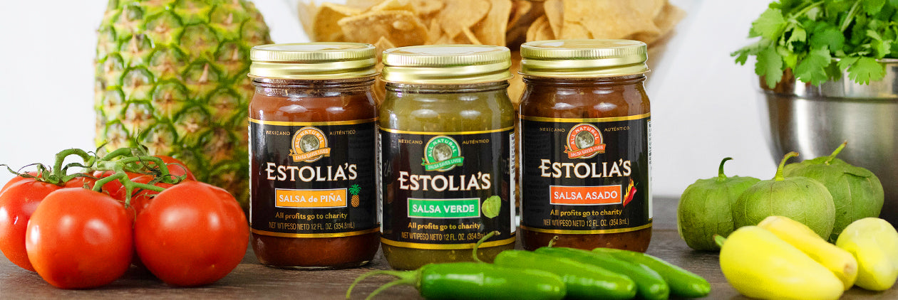 Free Estolia's Pineapple Salsa