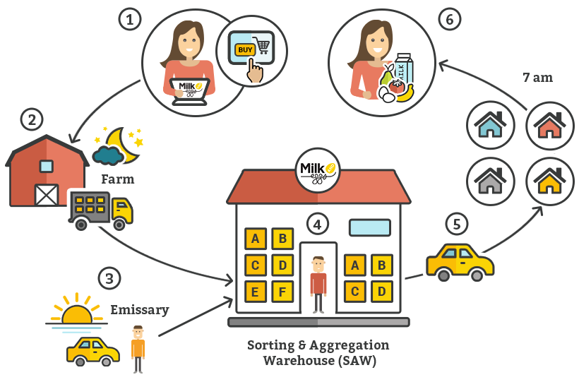 Grocery Delivery Model