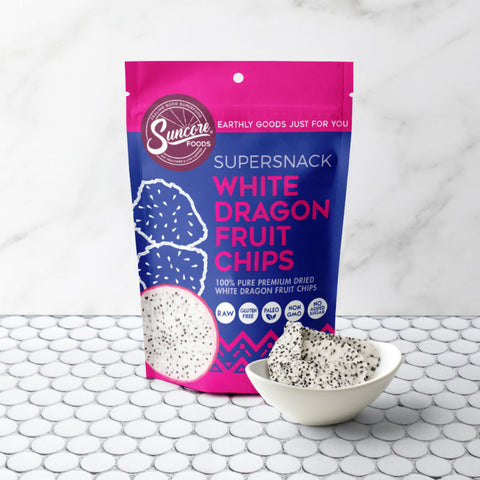 Suncore Foods Dragon Fruit Chips White