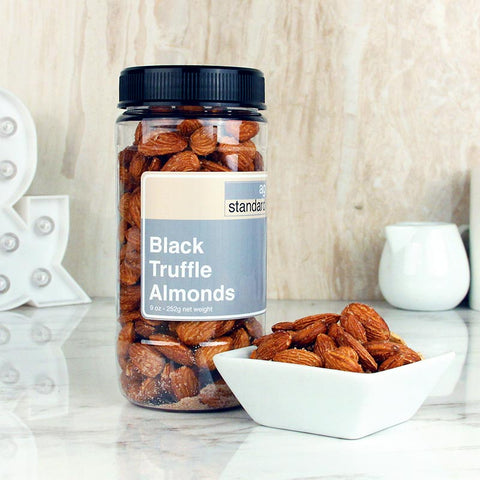AgStandard Smoked Almonds Black Truffle 9 OZ