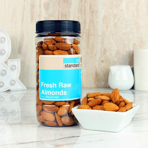 AgStandard Almonds Raw Plain 9 OZ