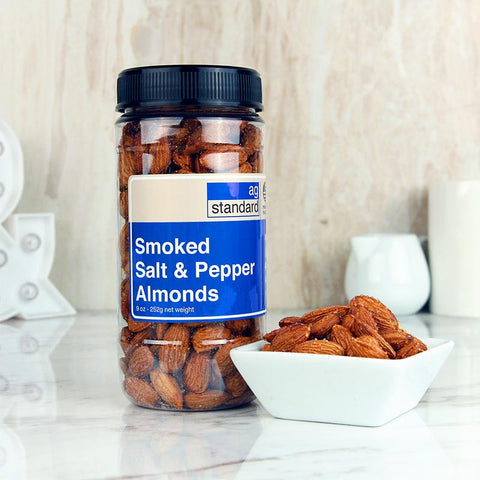 AgStandard Smoked Almonds Classic S&P (Salt & Pepper) 9 OZ