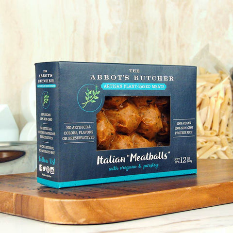 "The Abbot's Butcher Italian ""Meatballs"""
