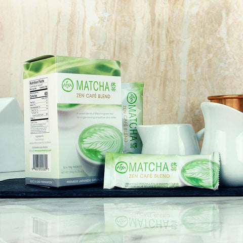 Aiya America Matcha Zen Cafe Blend Stick Pack