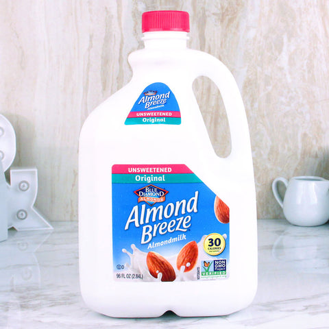 Almond Breeze Almond Milk Unsweetened Original 96 oz