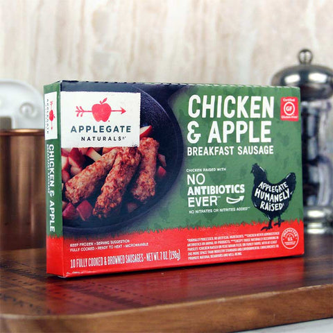 Applegate Naturals Chicken & Apple Breakfast Sausage