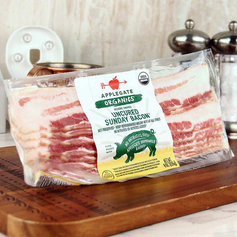 Applegate Organics Uncured Sunday Bacon ORGANIC