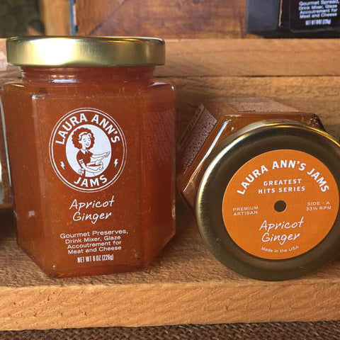 Laura Ann's Jams Apricot Ginger