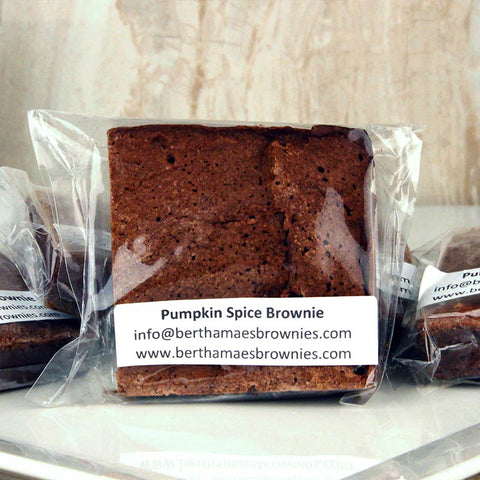 Bertha Mae's Brownie Pumpkin Spice