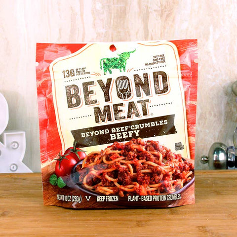 Beyond Meat Beefy Beef-Free Crumble