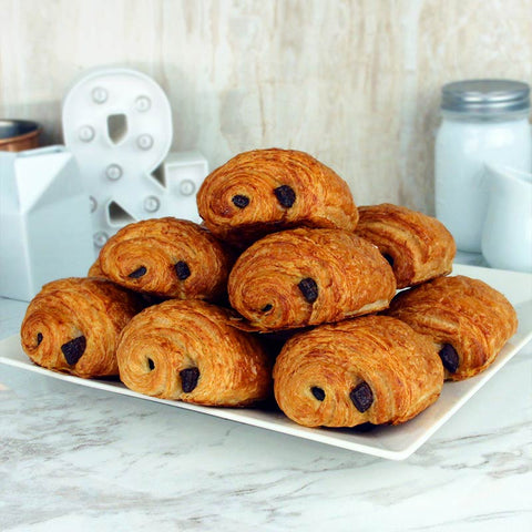Bread Lounge Pain Au Chocolate Pastry Mini 12 Pack