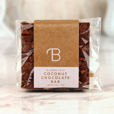 Bread Lounge Coconut Brownie Gluten Free